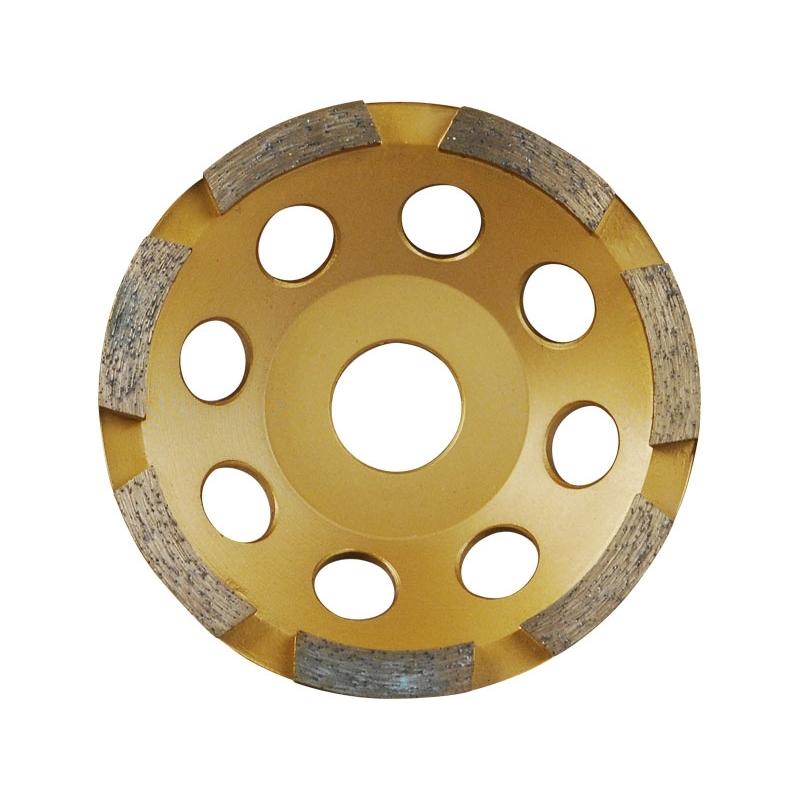 Kotúč diamantový brúsny jednořadý, 125x22,2mm