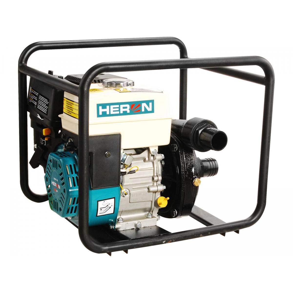 Čerpadlo motorové tlakové 6,5HP, 500l/min, HERON