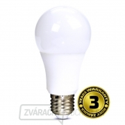 Solight LED žiarovka so stmievačom, A60, 10W, E27, 3000K, 270 °, 810lm