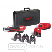 Milwaukee Hydraulický lis M12 HPT-202C U-KIT