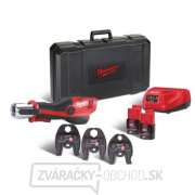 Milwaukee Hydraulický lis M12 HPT-202C V-KIT