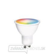 Solight LED SMART WIFI žiarovka, GU10, 5W, RGB, 400lm